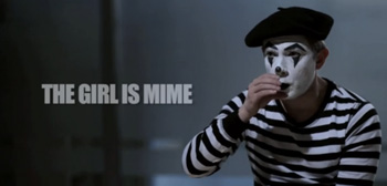 The Girl is Mime