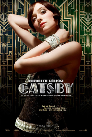 The Great Gatsby - Character Posters - Elizabeth Debicki