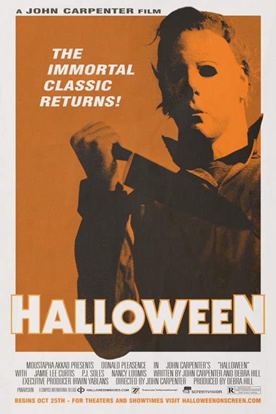 Halloween Re-Release Poster