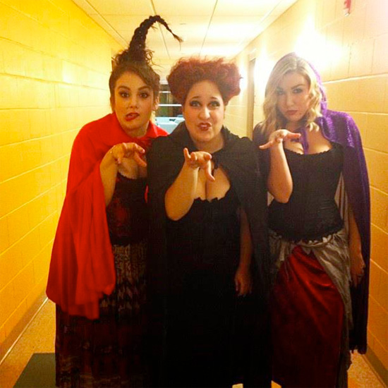 Halloween 2012 - Sarah, Mary and Winifred Sanderson from Hocus Pocus