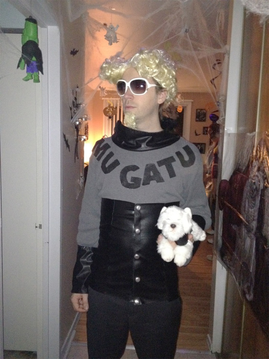 Halloween 2012 - Mugatu from Zoolander