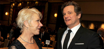 Helen Mirren and Colin Firth