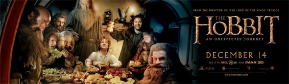 The Hobbit - Bilbo and Dwarves Banner