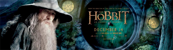 The Hobbit - Gandalf Banner