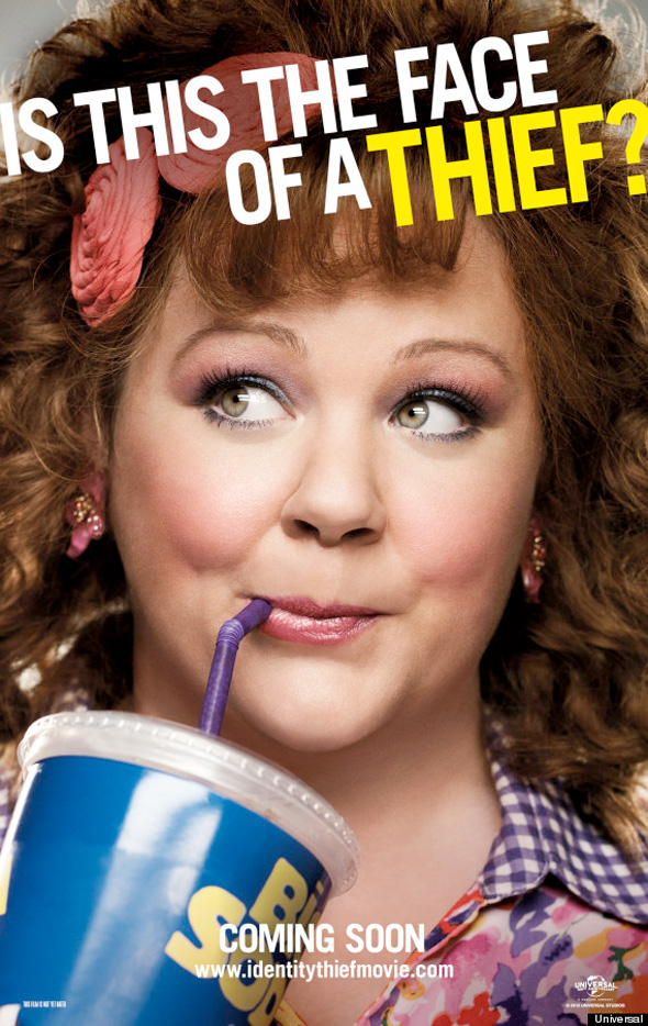 Identity Theft Poster - Melissa McCarthy