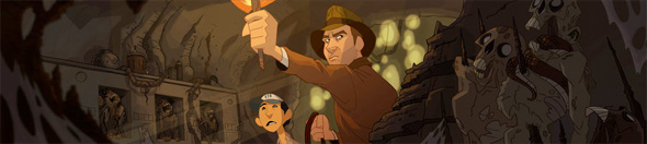 Indiana Jones: Animated Adventures - Indy and Shortround