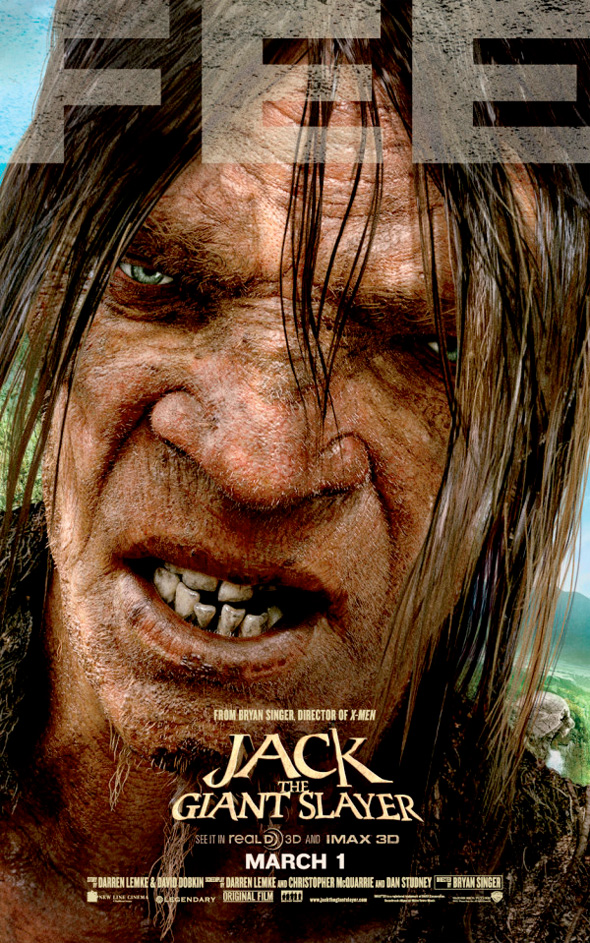 Jack the Giant Slayer - Fee Poster