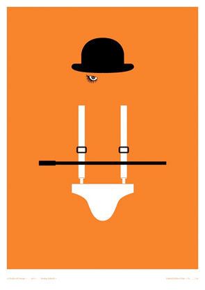 Little Print Shop of Horrors - A Clockwork Orange
