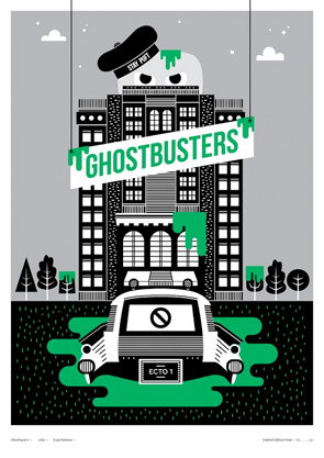 Little Print Shop of Horrors - Ghostbusters