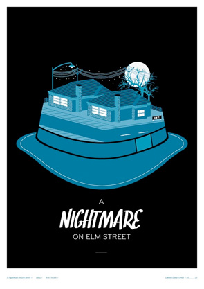 Little Print Shop of Horrors - A Nightmare on Elm Street