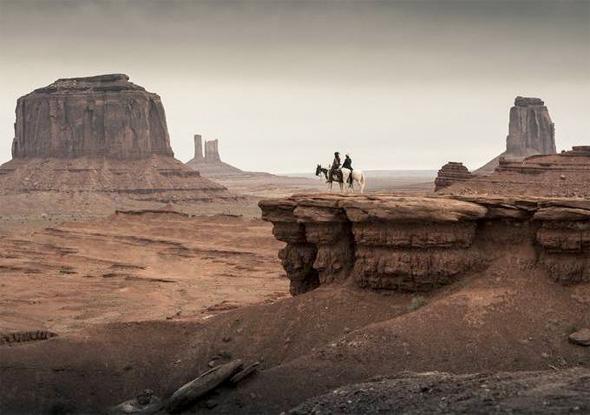 The Lone Ranger - Depp & Hammer Landscape