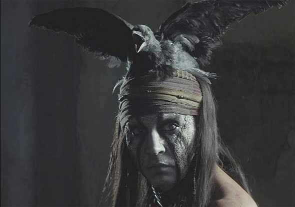 The Lone Ranger - Depp Close-Up