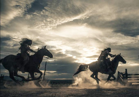 The Lone Ranger - Indians Riding