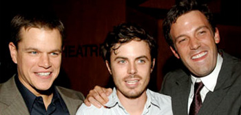 Matt Damon, Casey Affleck and Ben Affleck