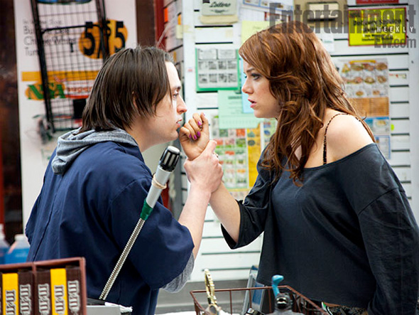 Movie 43 - Emma Stone and Kieran Culkin