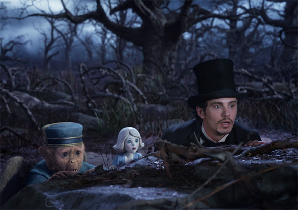 Oz: The Great and Powerful - First Look - James Franco and Company