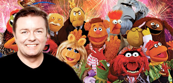 Ricky Gervais / Muppets
