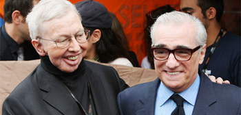Roger Ebert and Martin Scorsese