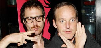 Sam Rockwell and Clark Gregg