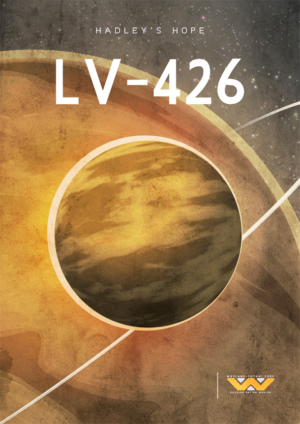 Sci-Fi Travel Posters - LV-426