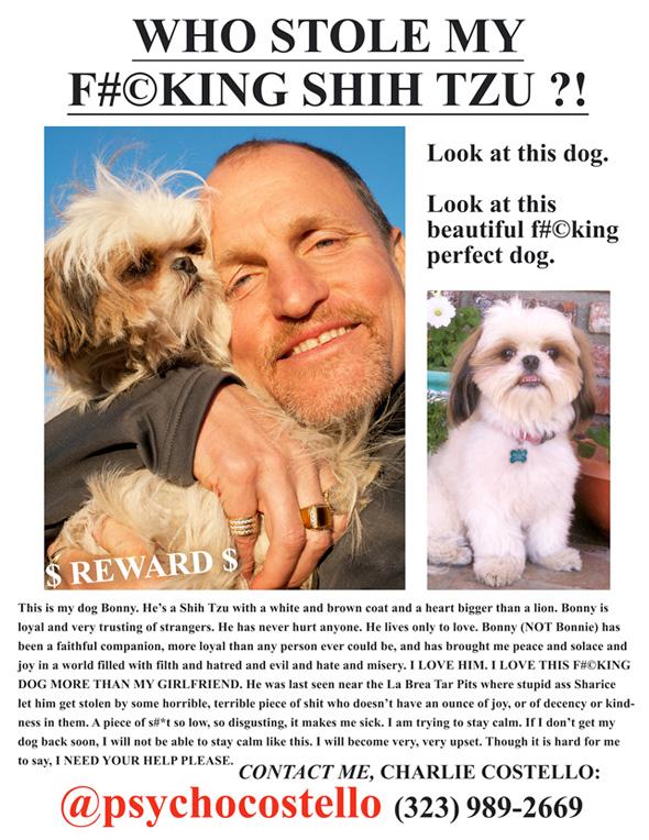 Seven Psychopaths - Lost Dog Ad
