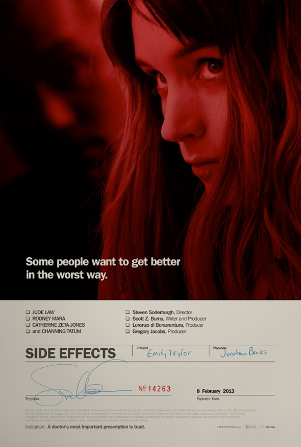Side Effects - First Poster