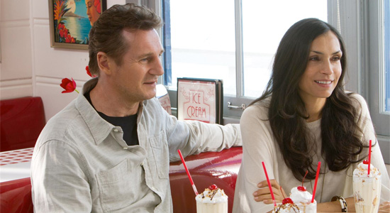 Taken 2 - Liam Neeson and Famke Janssen