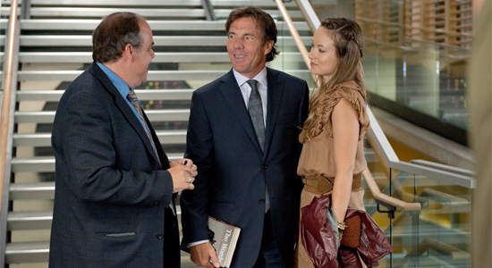 The Words - Dennis Quaid and Olivia Wilde