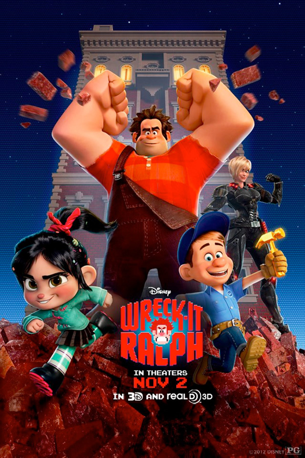 Wreck-It Ralph - Building Poster