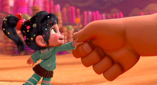 Wreck-It Ralph - Vanellope and Ralph