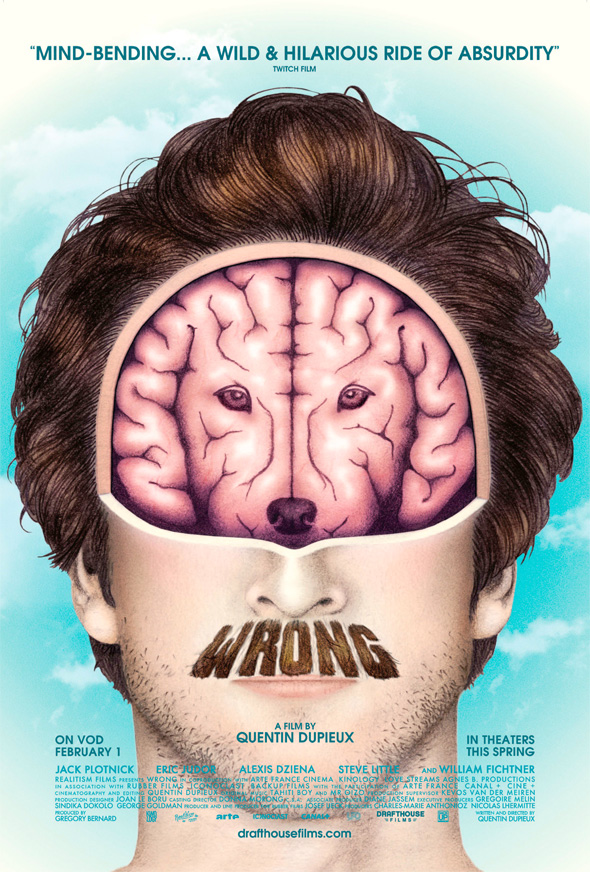 Wrong - Dog Brain Poster