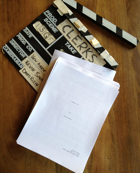 Kevin Smith - Clerks III Script