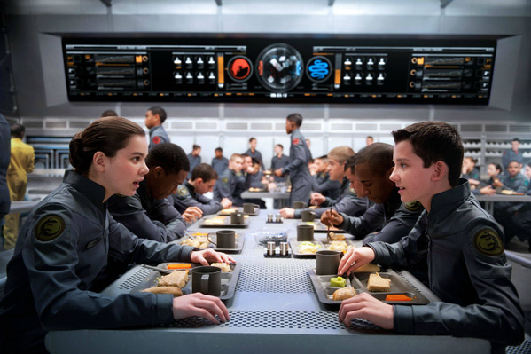 Ender & Petra in Ender's Game