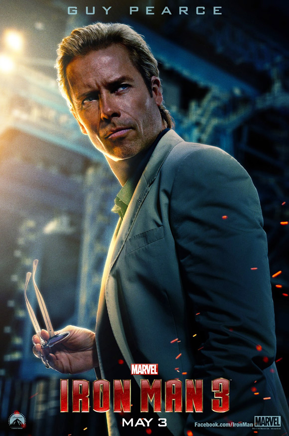 Guy Pearce's Killian Poster