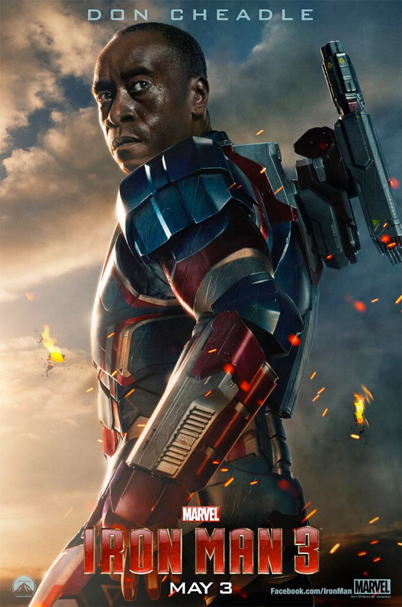 Don Cheadle's Iron Patriot Poster