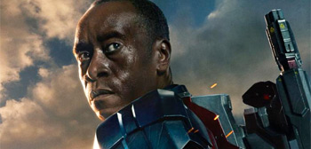 Don Cheadle's Iron Patriot