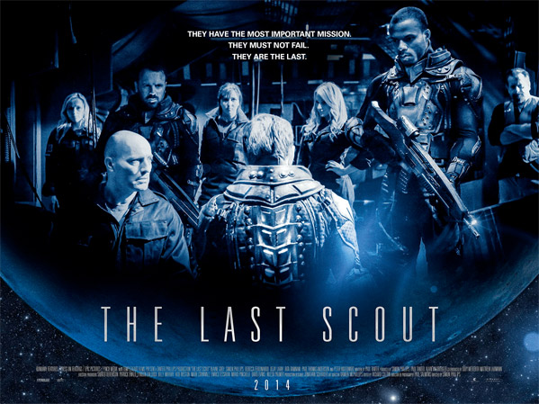 The Last Scout UK Quad Poster
