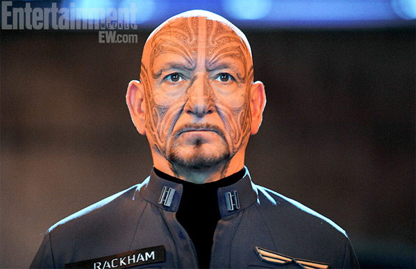 Ben Kingsley as Mazer Rackham in Ender's Game