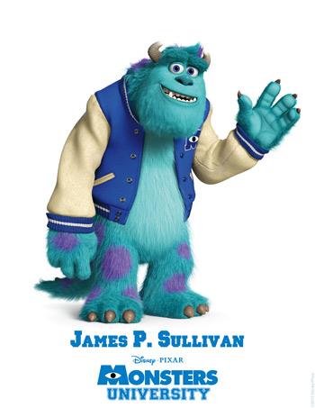Monsters University - James. P Sullivan