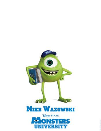 Monsters University - Mike Wazowski