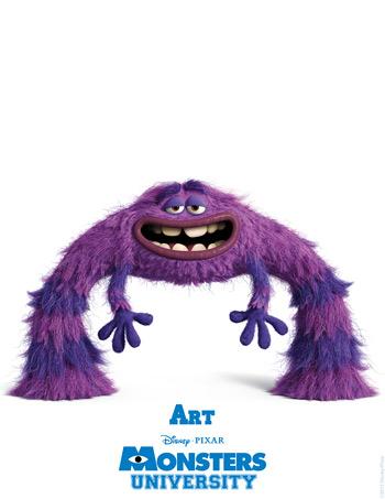 Monsters University - Art