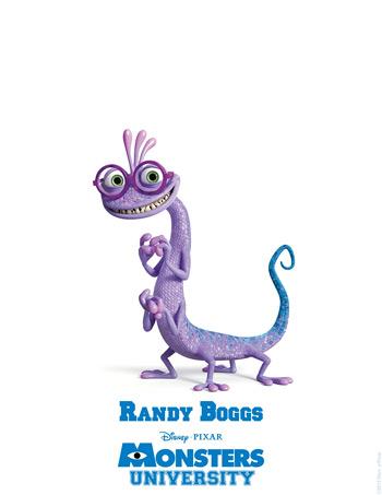 Monsters University - Randy Boggs