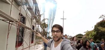 Man of Steel Viral Invasion Clip