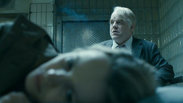 Philip Seymour Hoffman & Rachel McAdams in A Most Wanted Man
