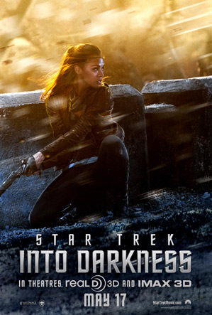 Star Trek Into Darkness Character Poster