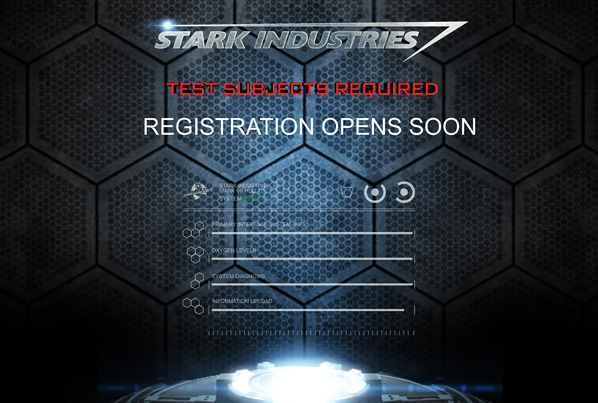 Stark Industries Viral Site
