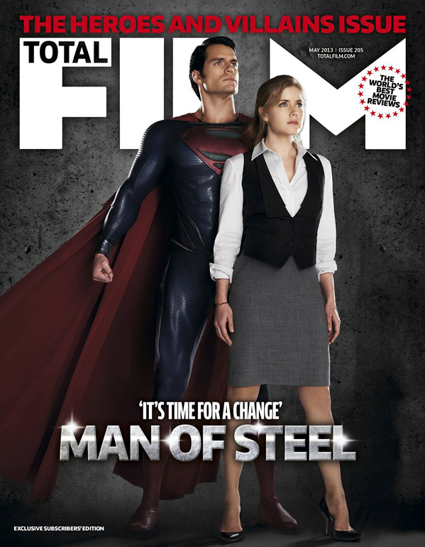 Total Film Man of Steel Cover