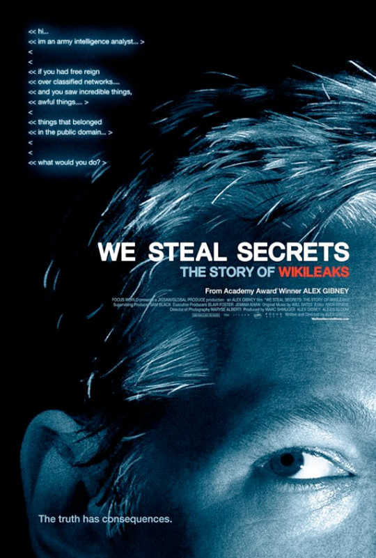 We Steal Secrets Poster