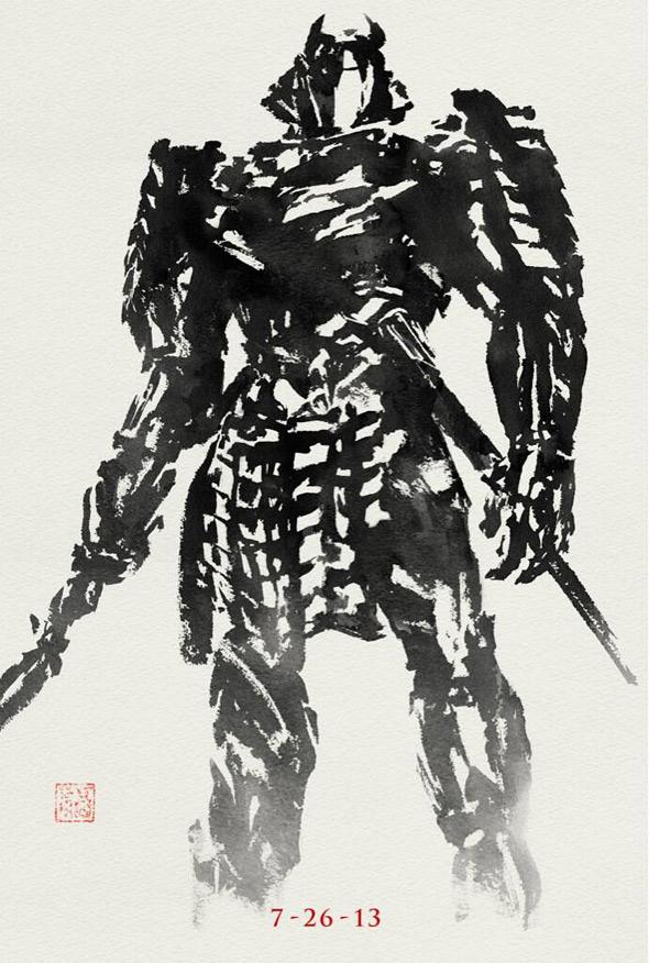 Silver Samurai - The Wolverine