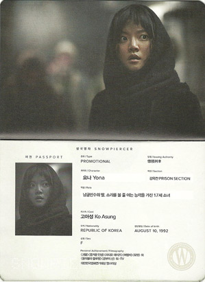 Snowpiercer Passport